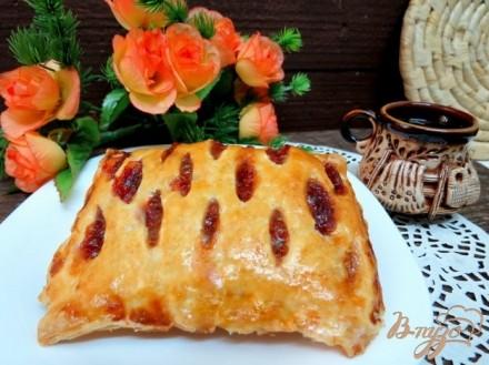 Пироги из слоеного теста рецепты с повидлом